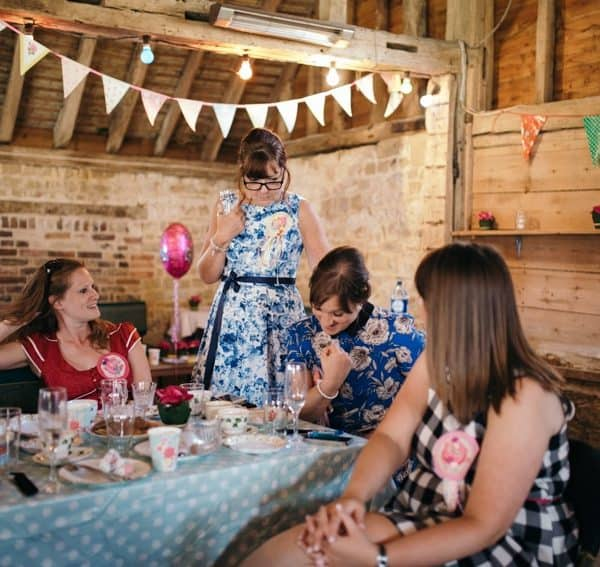 Hen party at Chapel barn